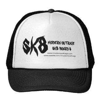 MODERN OUTRAGE SK8 BOARDERS COMP TRUCKER HATS