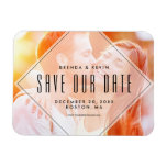 Modern Overlay   Photo Save the Date Magnet