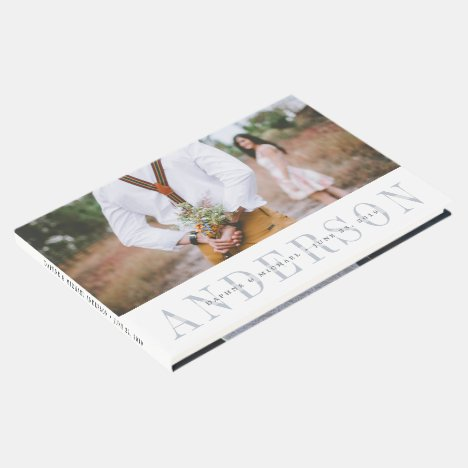 Modern Overlay Wedding Guest Book