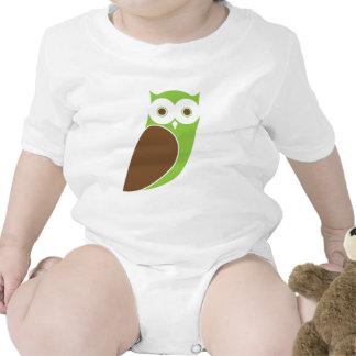 Modern Owl Infant Tee Shirt