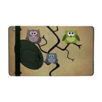 Modern Owl iPad Case