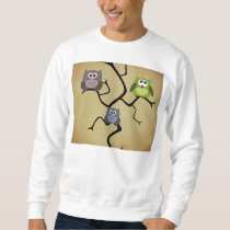 Modern Owl Sweatshirt