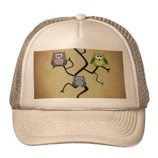 Modern Owl Trucker Hat