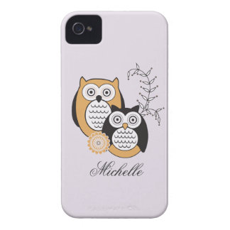 Modern Owls BlackBerry Bold Case-Mate Barely There