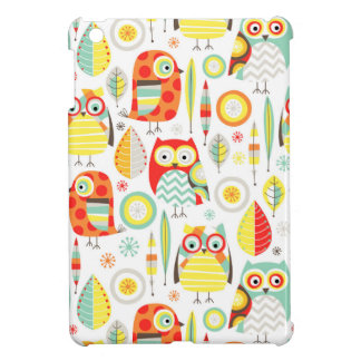 Modern Owls Case For The iPad Mini