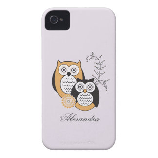 Modern Owls Case-Mate ID iPhone 4 Covers