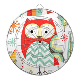 Modern Owls Dartboards