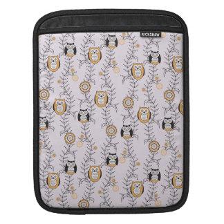 Modern Owls iPad/ iPad 2 Sleeve