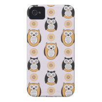 Modern Owls iPhone 4 Case-Mate ID