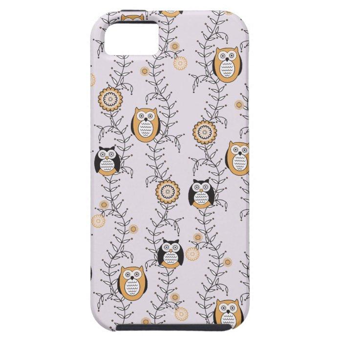 Modern Owls iPhone 5 Case-Mate Tough iPhone SE/5/5s Case