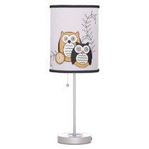 Modern Owls Lamp