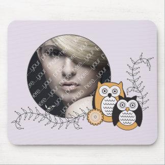 Modern Owls Mousepad