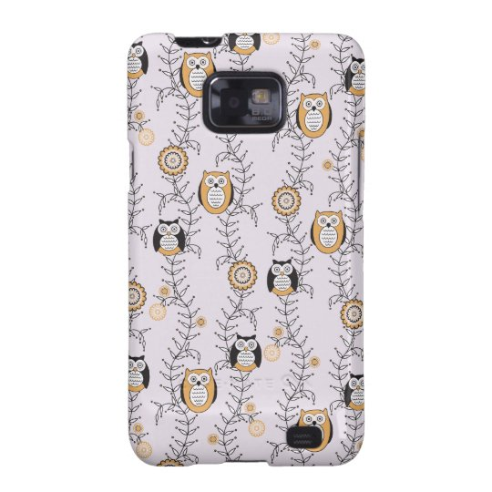 Modern Owls Samsung Galaxy S Case
