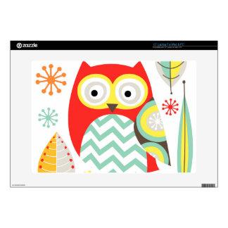 Modern Owls Laptop Skin