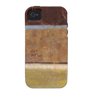 Modern Painting in Earth Tones by Norman Wyatt Vibe iPhone 4 Cases