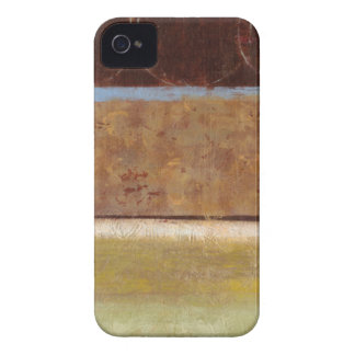 Modern Painting in Earth Tones by Norman Wyatt iPhone 4 Cases