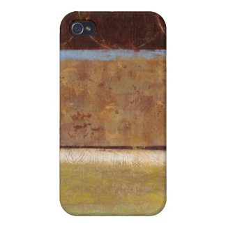 Modern Painting in Earth Tones by Norman Wyatt Covers For iPhone 4