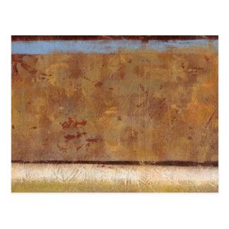 Modern Painting in Earth Tones by Norman Wyatt Postcard