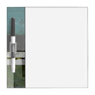 Modern Painting with Assorted Letters Dry-Erase Boards