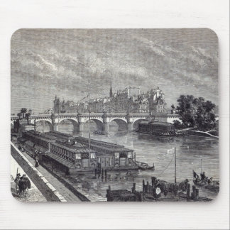 Modern Paris: The Pont Neuf, 1845 Mouse Pad