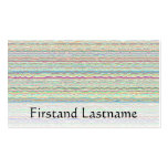 Modern Pastel Art Business Cards