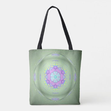 Beach Themed Modern Pastel Mint Green 3D Marble Pattern Tote Bag