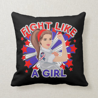 Modern Patriotic American Rosie The Riveter Pillows