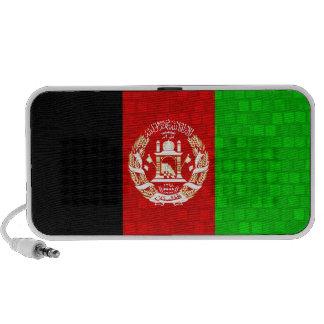 Modern Pattern Afghan Flag Laptop Speaker