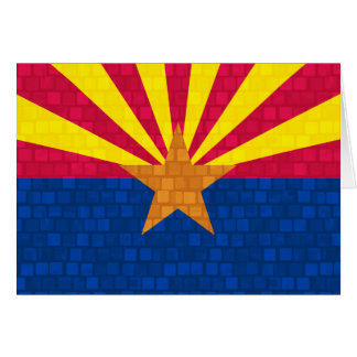 Modern Pattern Arizonan Flag Card