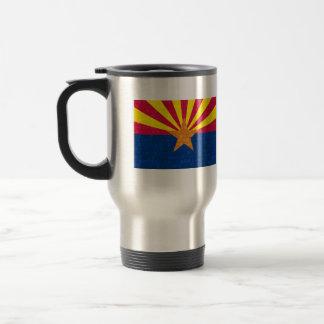 Modern Pattern Arizonan Flag Travel Mug