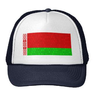 Modern Pattern Belarusian Flag Trucker Hat
