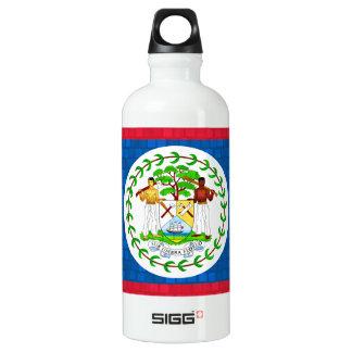 Modern Pattern Belizean Flag Water Bottle