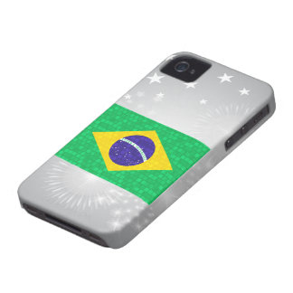 Modern Pattern Brazilian Flag iPhone 4 Cover