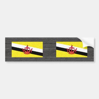 Modern Pattern Brunean Flag Bumper Sticker