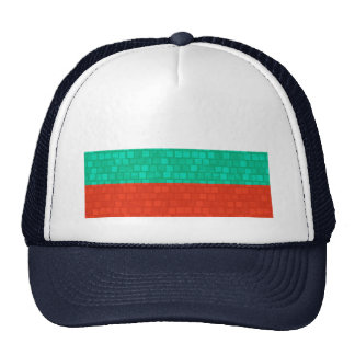 Modern Pattern Bulgarian Flag Trucker Hat