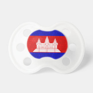 Modern Pattern Cambodian Flag Pacifier