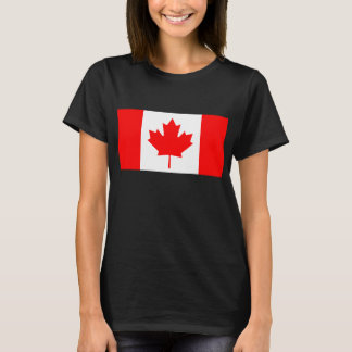 Modern Pattern Canadian Flag T-Shirt