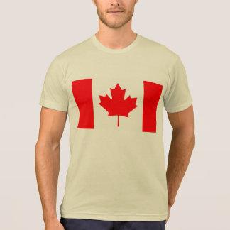 Modern Pattern Canadian Flag Tshirts