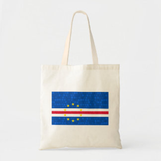 Modern Pattern Cape Verdian Flag Tote Bags