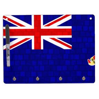 Modern Pattern Caymanian Flag Dry Erase Board