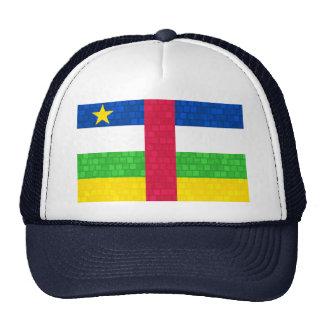Modern Pattern Central African Flag Trucker Hat