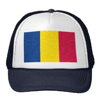 Modern Pattern Chadian Flag Trucker Hat