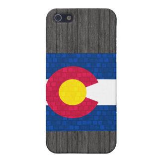 Modern Pattern Coloradan Flag iPhone SE/5/5s Case