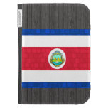 Modern Pattern Costa Rican Flag Kindle Keyboard Covers