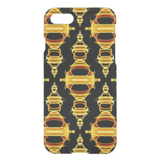 Modern Pattern Dividers 03 Gold and Black iPhone 8/7 Case