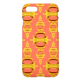 Modern Pattern Dividers 03 Gold Salmon iPhone 8/7 Case