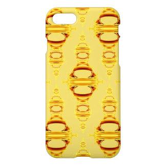 Modern Pattern Dividers 03 Golden Yellow iPhone 8/7 Case