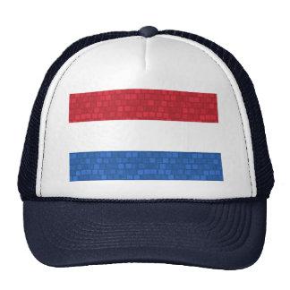 Modern Pattern Dutch Flag Trucker Hat