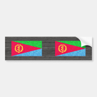 Modern Pattern Eritrean Flag Bumper Stickers