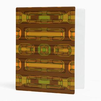 modern pattern factory 01b mini binder